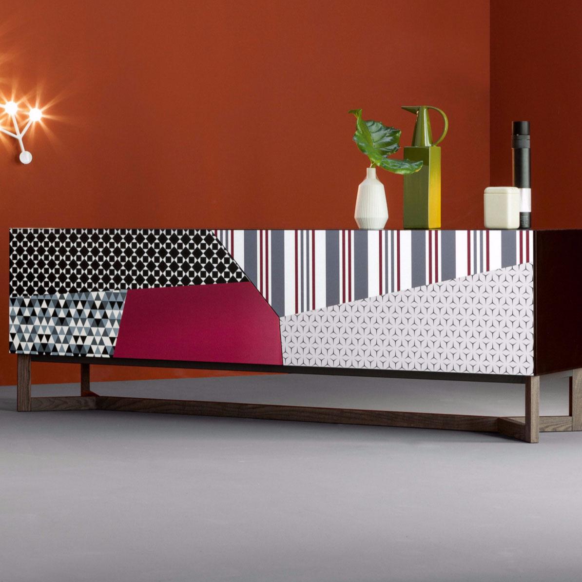 Madia Doppler Sideboard di Bonaldo design Giuseppe Viganò