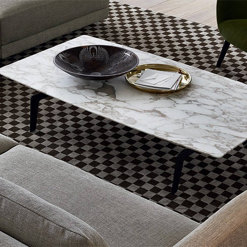 Tavolino Tribeca di Poliform Design Jean Marie Massaud