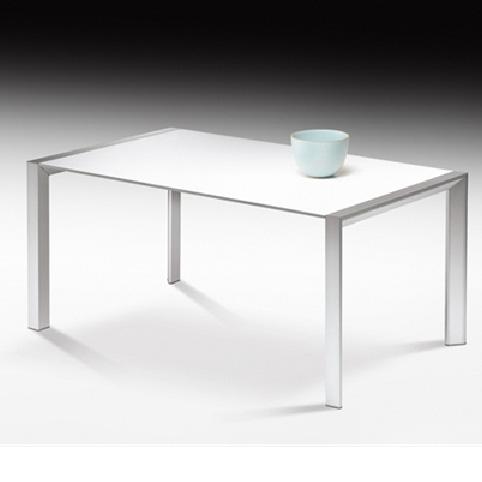 Tavolo allungabile Afil alluminio di Fiam Design Mario Mazzer