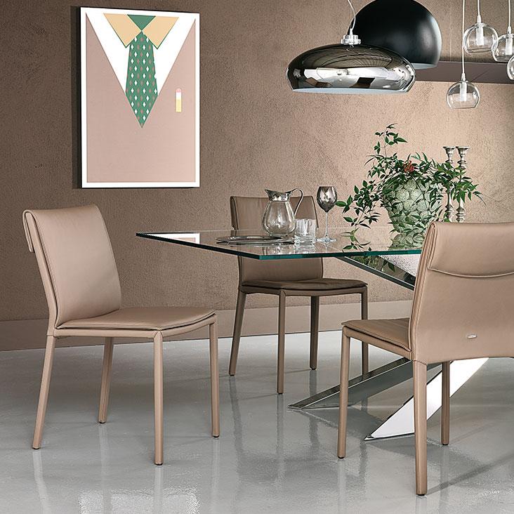 """Sedia """"Isabel"""" Cattelan design Paolo Cattelan"""