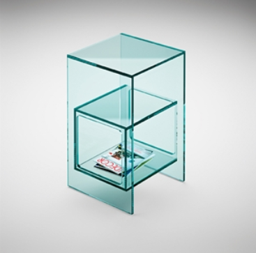 Tavolino Magique di Fiam Design Studio Klass M. Maturo e A. Roscini