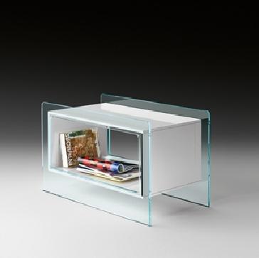 Tavolino Magique Side di Fiam Design Studio Klass M. Maturo e A. Roscini