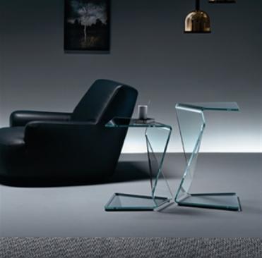 Tavolino Sigmy di Fiam Design Aquili Alberg